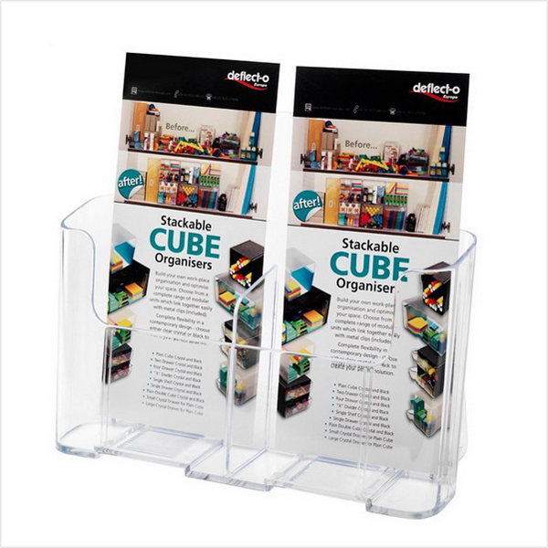 clear acrylic book box