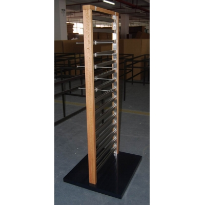 Mid-Floor Garment Display Tower