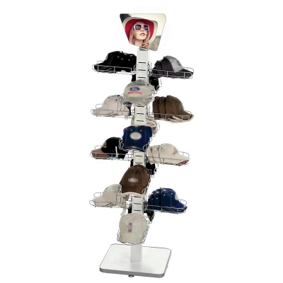 Multi-Layer Standing Hat Rack